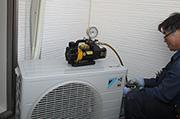 安心のエアコン工事について